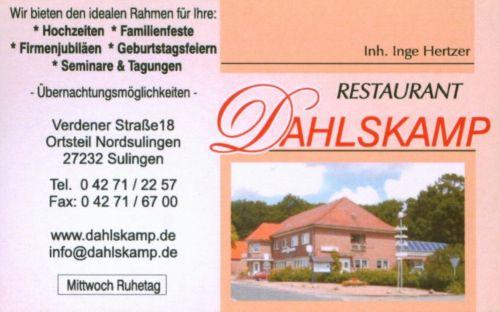 Hotel Restaurant Dahlskamp Sulingen