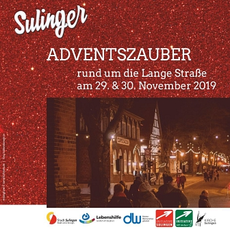 Adventszauber 2019 © Initiative Sulingen