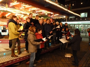 Enchor auf dem Adventsmarkt 2012 © Enchor
